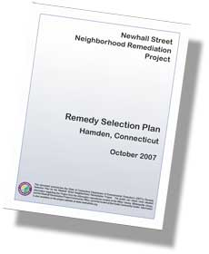 Front Cover of the Remedy Selection Plan